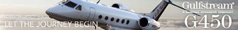 Gulfstream G450: Let the Journey Begin